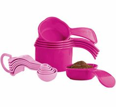THE WHOLE SET ON SALE FOR THE MONTH OF OCTOBER FOR $12! (For breast care awareness month)    ORDER TODAY! Email me : jennyfurneeds@yahoo.com Subject:Pink Tupperware    http://my2.tupperware.com/tup-html/J/jenniferneeds-welcome.html