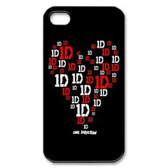 ∞ One Direction [1D] → 1D Heart iPhone Case