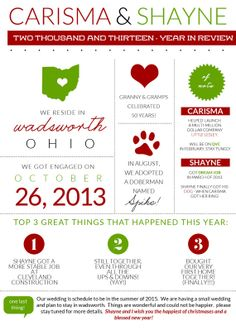 business infographic year in review newsletter template by jamie