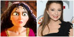 The Faces Behind Disney Villains: Mother Gothel/ Donna Murphy