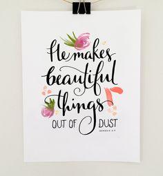 He Makes Beautiful Things — MAIEDAE