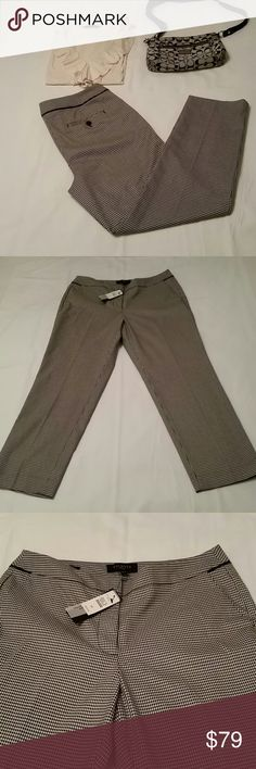 Talbots dress pants Heritage hounds tooth Talbots Pants Trousers