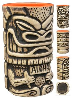 Aloha Bruddah Tiki Mug created by Doug DoRr