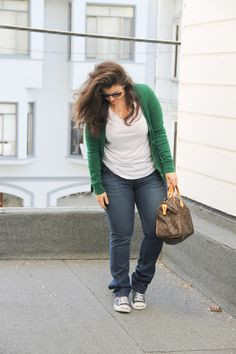 The Pear Shape :: casual weekend i love her blog :)