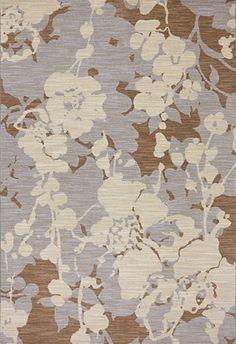 Estelle Dove Karastan Rug Beautiful Mix Of Lavender Blue And Cream Color  Mix Flower Pattern That