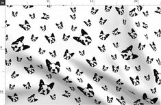 Items similar to Boston Terrier Fabric By The Yard, Gender Neutral Dog Print Fabrics For Babies, Black White Cotton Muslin Jersey Fleece, Ships From US or EU on Etsy Tie Blankets, Print Fabrics, Cotton Muslin, Double Gauze Fabric, Reusable Bags, Burp Cloths, Fleece Fabric, Gender Neutral, White Cotton