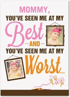 Best and Worst - Mother's Day Greeting Cards - Magnolia Press - Milk - Neutral : Front