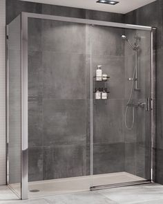 This innovative Embrace Level Access Sliding Door has a stylish structure, designed to maximise space and is ideal for the whole family due to its high performance and barrier free bottom rail options. Shower Enclosure, Bathroom Trends, Interior Design London, Interior Design Photography, Sliding Doors, Black Bathroom, Sliding Shower Door, Bathroom Inspiration, Shower Design