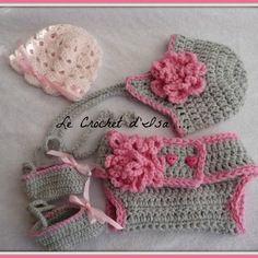 Reserve ensemble c.couche/ bonnet/ ballerines /