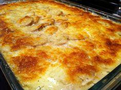 Cheesy Scalloped Potatoes with Bacon