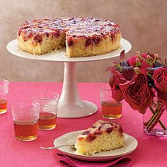 Cranberry upside-down cake.  I made this last Thanksgiving and oh my it was delicious!!!