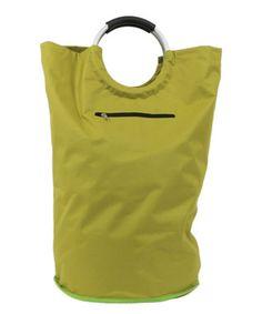 Green Laundry Bag