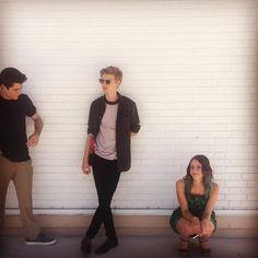 Dylan O'Brien, Thomas Brodie-Sangster and Kaya Scodelario