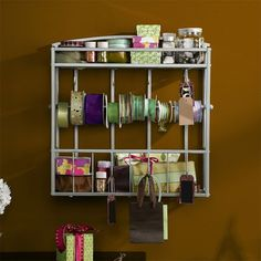 I pinned this Whitehall Wall-Mount Craft Rack from the Craft Room event at Joss and Main!