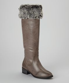 Look what I found on #zulily! Gray Smoky Boot by Modern Rush #zulilyfinds