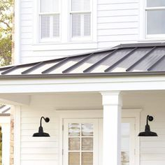 Features: -Number of lights: 1. -Finish: Black. -Weatherproofed powder coat allows for placement inside and out. Product Type: -Barn Light. Finish: -Black. Hardware Finish: -Black. Fixture Mate