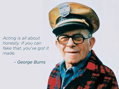 George Burns, born Nathan Birnbaum, was an American comedian, award-winning actor and best-selling writer. He was one of the few entertainers whose career successfully spanned vaudeville, film, radio, and television.