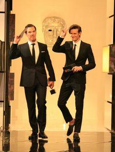 Matt didn't even wear socks to the BAFTAS? xD