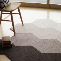 Honeycomb, Carpet, Module, Contemporary, Living Room, Rugs, Home Decor, Farmhouse Rugs, Decoration Home