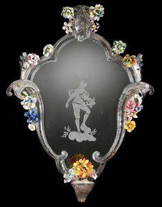 Mirror, Italy (Venice), 1750-1800