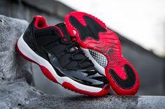 """Air Jordan 11 Retro Low """"BRED"""" (Detailed Pics & Release Date)"""