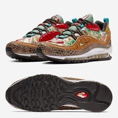 "0e06d2e2b8b The Nike Air Max 98 ""Chinese New Year"" Is Releasing At The End Of"