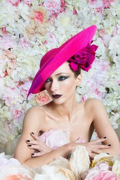 31735229cb7 If you are looking for floral hats for the mother of the bride