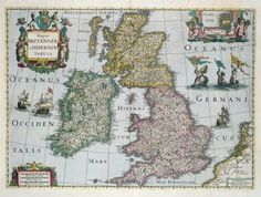 Map of Britain, 1631