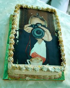 birthday cake for a photographer