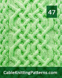 Over 50 cable stitch patterns for the experienced knitter who is looking for cable stitches that yield spectacular results Cable Knitting Patterns, Vintage Crochet Patterns, Knitting Charts, Knitting Stitches, Knit Patterns, Stitch Patterns, Knitting Tutorials, Knitting Ideas, Free Knitting