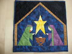 I've made this Nativity wall-hanging 3 times. I LOVE it!