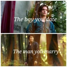 boy vs man. Let me just tell you that bellamy wins everything all the time no matter what. Get out of the way finn
