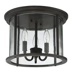 You'll love the Arshan 3-Light Outdoor Flush Mount at Wayfair - Great Deals on all Lighting products with Free Shipping on most stuff, even the big stuff.