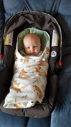 Car Seat Swaddle Blanket Made to Order by SpareASquareQuilts