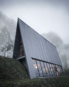 TRIANGLE CLIFF HOUSE - MATTHIAS ARNDT - ARCHITECTURE SCANDINAVE