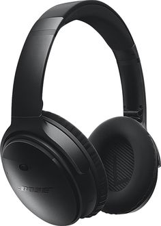 Bose QuietComfort 35 wireless headphones Black QC35 WIRELESS HDPH BLACK - Best Buy