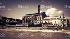 Rustic Mill Factory royalty-free stock photo