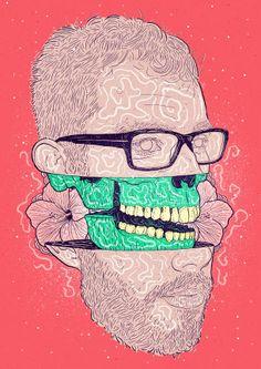 Las ilustraciones de Bruno Miranda - Antidepresivo