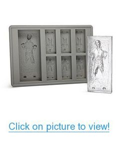 Star Wars Han Solo in Carbonite Ice Cube Tray Home #Office #Kitchen