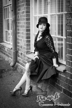 Photo by Susanna Honkasalo. Jewerly: Ibero.  Vintage - Black and white