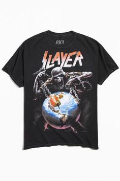Graphic Tee Outfits, Graphic Tee Shirts, Rock Shirts, 90s Shirts, Vintage Band Tees, Vintage Graphic Tees, Dope Outfits For Guys, Urban Outfitters, Punk Rock Fashion