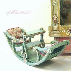 Miniature see-saw chair