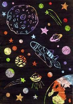 Vesmír – odkrývací technika Art For Kids, Children, Art Kids, Boys, Kids, Big Kids, Children's Comics, Sons, Kid