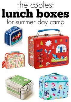 the best lunch boxes for camp and back to school
