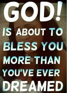 I receive it in Jesus name!