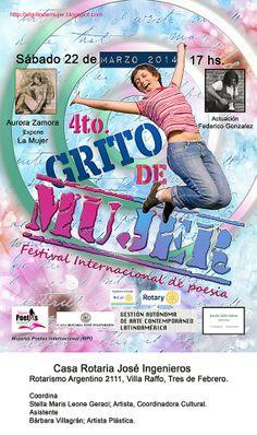 Arte en gestión: Festival Internacional de Poesía GRITO DE MUJER 20...