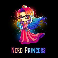 Nerd Princess (Black)