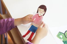 DIY - Free Printable Paper Dolls