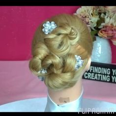 Click on image to see Easy Quick Updo