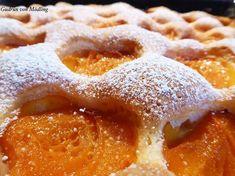 Grandma's apricot cake from the tin - Backrezepte - Kuchen Easy Baking Recipes, Easy Cake Recipes, Fruit Recipes, Easy Desserts, Sweet Recipes, Dessert Recipes, Healthy Protein Breakfast, Austrian Recipes, Sweet Cakes